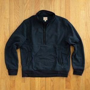 J. Crew Half-zip Polartec Fleece Pullover - Navy L